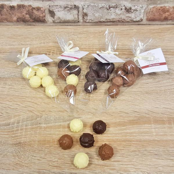 Hand-made Truffle bags by Xocolate